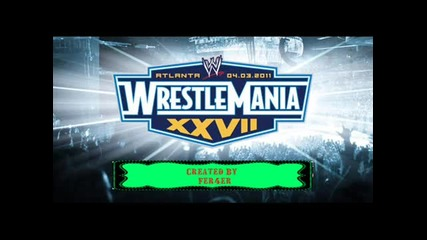wrestlemania 27 song