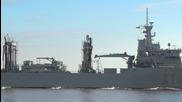 Latvia: NATO squadron docks at Riga port
