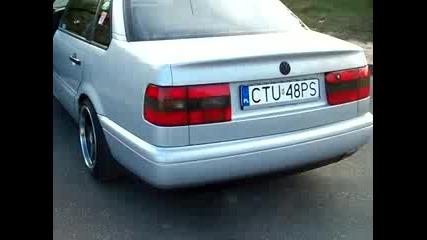 Passat B4 Vr6 exhaust sound