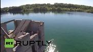 Естония: Бивш съветски затвор се превърна в красива лагуна