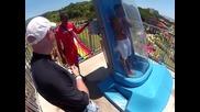 Луда водна пързалка