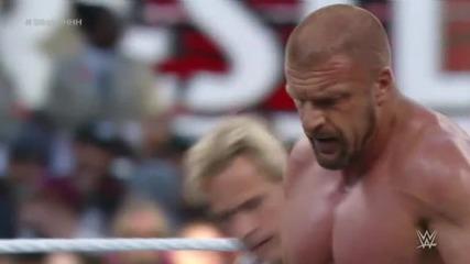 [wrestlemania 31]- Triple H vs Sting (епоха срещу епоха)