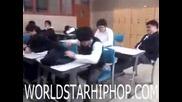 Не събуждайте спящия в клас!