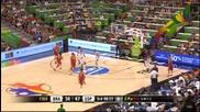 ВИДЕО: Испания съсипа и Бразилия в баскетбола