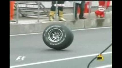 Господари на ефира - Пияна гума [ смях !!! ]