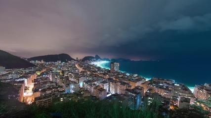 8k видео - Рио де Жанейро