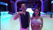 Dancing Stars - Отпадналите Милко и Елена (20.03.2014г.)