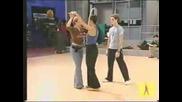 David Bisbal Y Gisela Танцуват В Академията 1 Parte