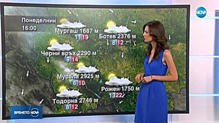 Прогноза за времето (21.07.2019 - централна емисия)