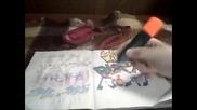 как да нарисувате графити