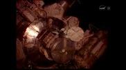 Пуснаха тока на Международната космическа станция с четка за зъби