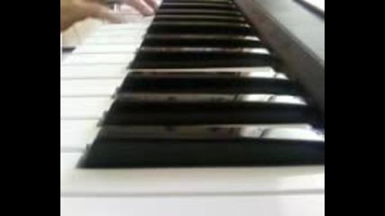 Bruno Mars-grenade on piano