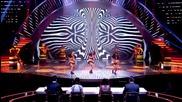 Британия Търси Талант 2013 - Трите красиви танцьорки изумили журито Ceo Dancers - Полуфинал