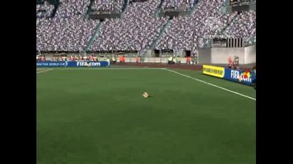 Fifa 08 - Странен Бъг