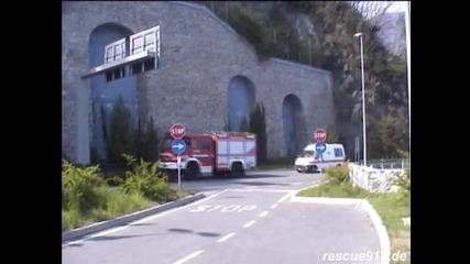 пожарна + линейка италия