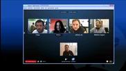 *new* skype 5.0 Видео разговор