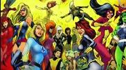 Класация топ 10 героини на Марвел