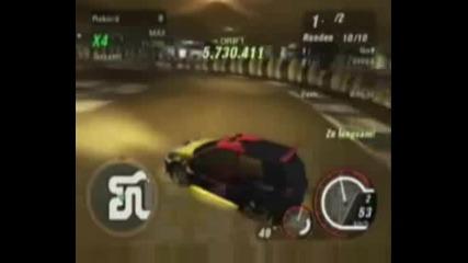 Need For Speed Underground 2 One - Drift Crashes