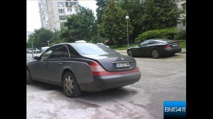 Maybach 57 и Aston Martin Vanquish в София