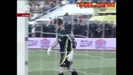 Цска - Левски 0:2 Левски 2 гол 9.05.2009