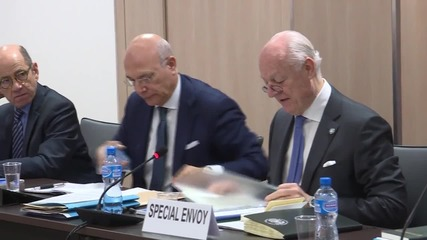 Switzerland: Syrian delegation meet de Mistura in Geneva to resume peace talks