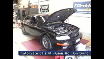 Motorvate 4th Gear Roll On Dyno