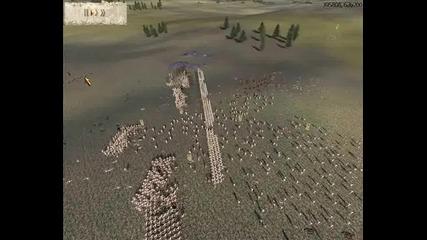 Rome Total War 1v1 Online Battle #007