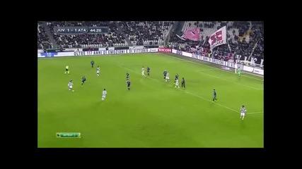 20.1.2015 Ювентус-аталанта 2-1 Серия А