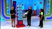 Момиче се обърква и разкрива отговора в телевизионно шоу