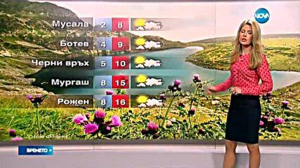 Прогноза за времето (27.08.2016 - сутрешна)