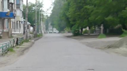 "Славянск 02 май 2014, 09 часа, Ул. ""свобода"""