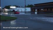 Улично наводнение в Уисконсин 18.8.2014