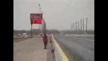 Nissan 350z 8.33 Sec - 400 метра