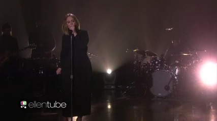 Adele - When We Were Young (live on Ellen 18.02.2016)
