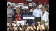 Мит Ромни официално бе номиниран за кандидат-президент в САЩ