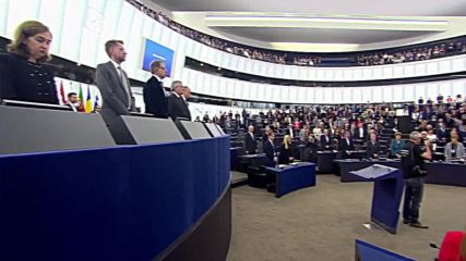France: European Parliament holds minute of silence for Strasbourg shooting victims
