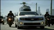 Страхотна реклама на Chevrolet Camaro Zl1