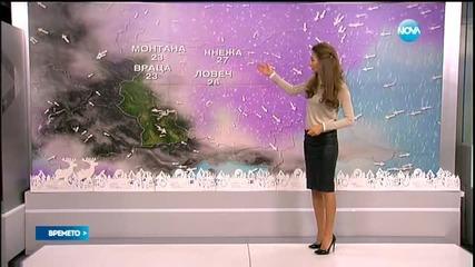 Прогноза за времето (04.01.2015 - сутрешна)