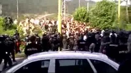 Acab - Торсида(хайдук Сплит) - 210 арестувани,  30 ранени