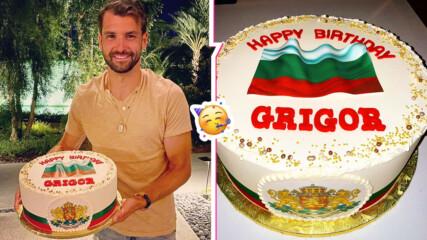 Гришо показа уникална торта за рождения си ден, каза какво му липсва