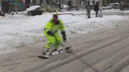 Сноуборд в Ню Йорк