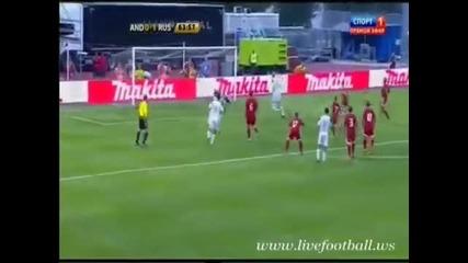 Андора - Русия 0:2
