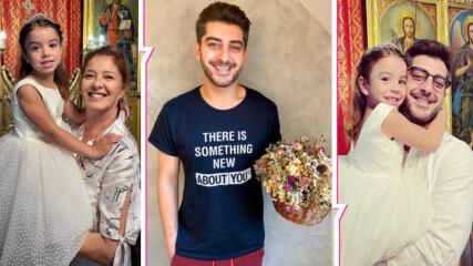 Дъщеричката на Сашо Кадиев е вече кръстена, а баба Евро е на седмото небе от щастие