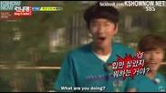 [ Eng Subs ] Running Man - Ep. 153 (with Park Ji Sung, Koo Ja Chul, Sulli) - 1/2