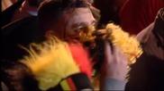 Белгийските фенове куфяха в Брюксел