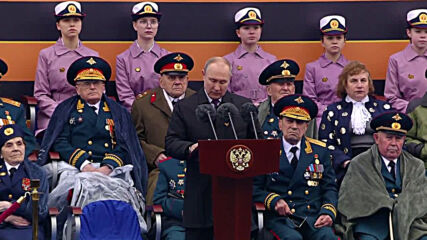 Russia: Putin warns of history being rewritten at Moscow V-Day speech