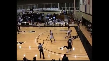 Jarret Johnson from Anderson University dunk
