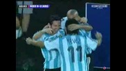 Copa America - Amazing Goal By Messi