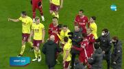 Жестока разправия на Ливърпул и Бърнли между мениджърите
