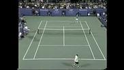 Andre Agassi v Kucera. Us Open 1998